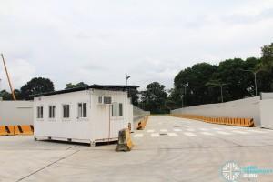 Seletar Bus Depot (Bus Park) - Exit