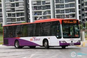 SBST Mercedes-Benz O530 Citaro (SG1172T) - Service 129