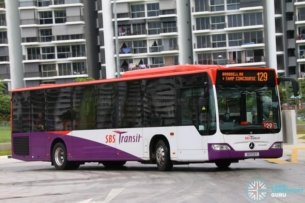 Sbst mercedes benz o530 citaro sg1172t service 129 for Mercedes benz sugar land service