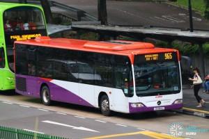 SMRT Mercedes-Benz Citaro (SG1184J) - Service 965