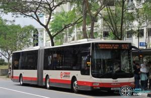 SMRT MAN A24 (SMB388S) - Service 972
