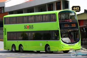 Tower Transit Volvo B9TL Wright (SG5012X) – Service 96B