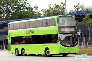 SBST Volvo B9TL Wright (SG5591R) - Service 129