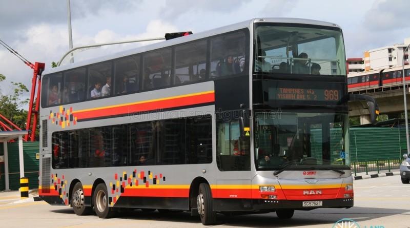SMRT MAN A95 (SG5752T) - Service 969