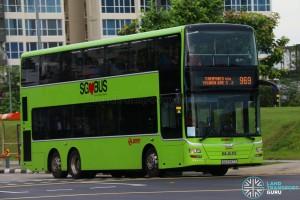 SMRT MAN A95 (SG5787T) - Service 969