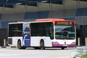 SBST Mercedes-Benz O530 Citaro (SBS6233G) - Service 18