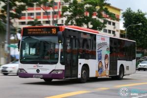 SBST Mercedes-Benz Citaro O530 (SBS6247S) - Service 18