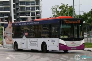 SBST Scania K230UB (SBS8569A) - Service 39
