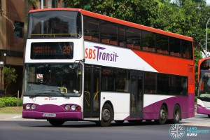 SBST Volvo B10TL (SBS9828X) - TownLink 291