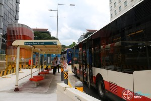 Reinstated Bus Stop 04019: Manulife Ctr, Bencoolen St