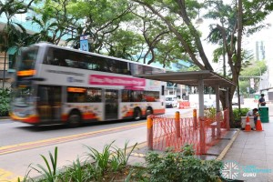 Abolished Bus Stop 04189: Manulife Ctr, Bras Basah Rd