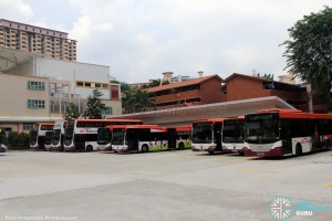 Buona Vista Bus Terminal in August 2015