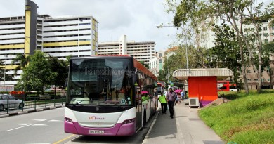 Ghim Moh Bus Terminal - Parking lots