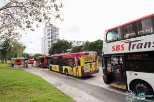 Ghim Moh Bus Terminal - Parking lots