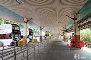HarbourFront Bus Interchange - Interchange Concourse