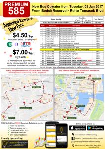 Commute Solutions Premium 585 poster
