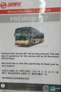 Premium 587 Withdrawal Poster