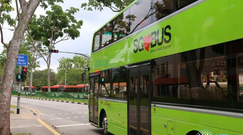A Volvo B9TL bus with Lush Green Livery