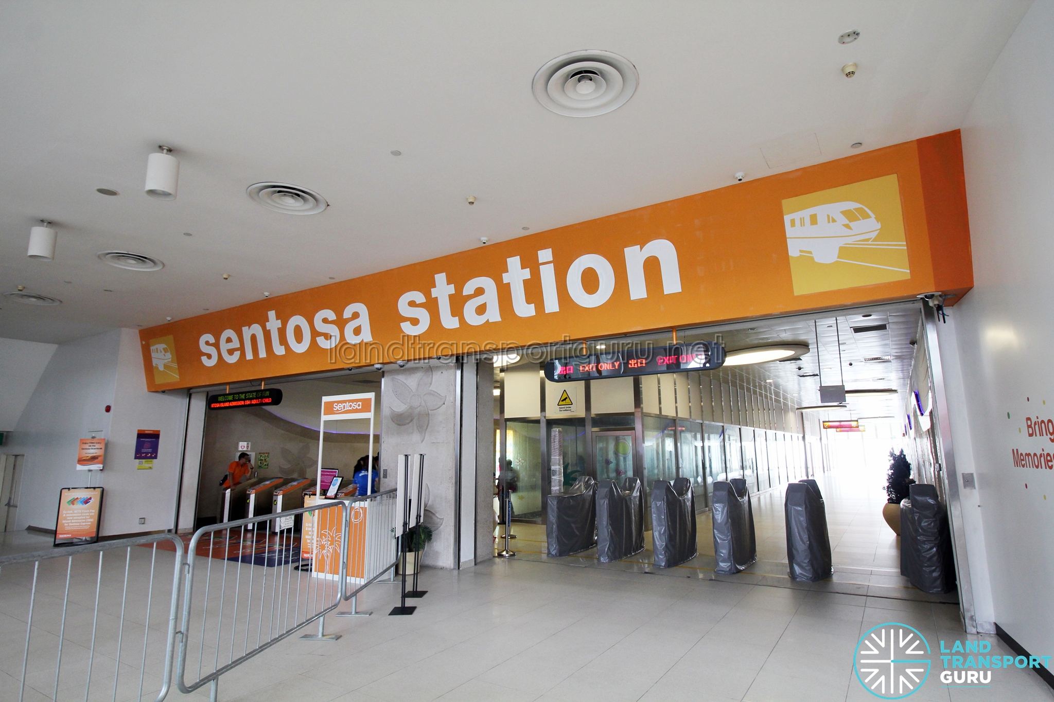 Sentosa Station Land Transport Guru