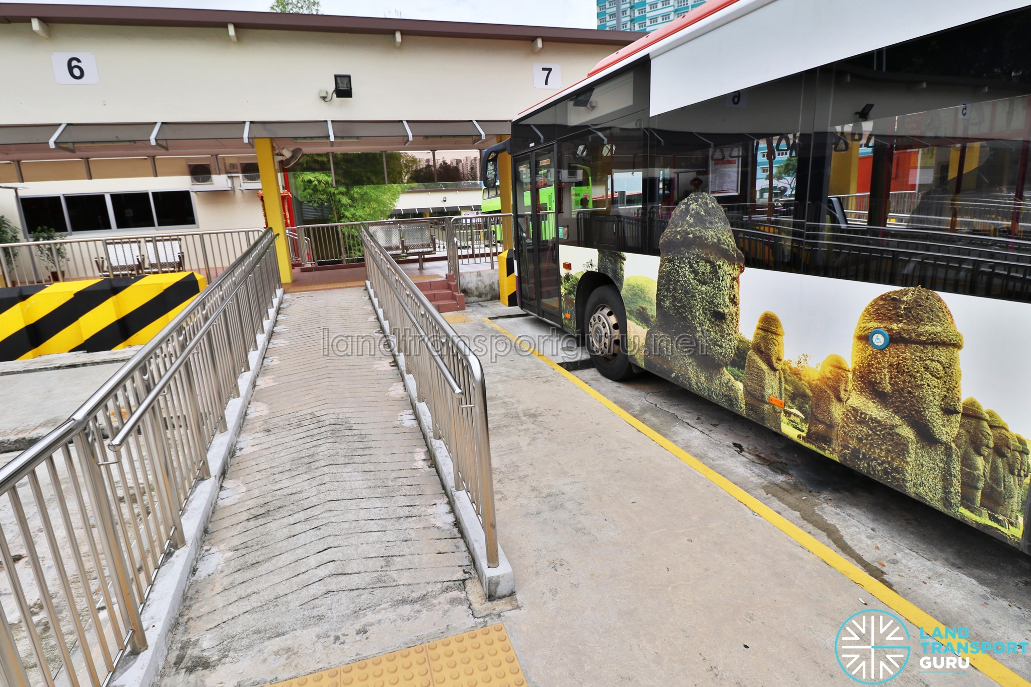 Saint Michael s Bus Terminal Wheelchair ramp modification