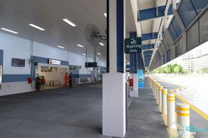 Tampines Concourse Bus Interchange: Alighting Berth