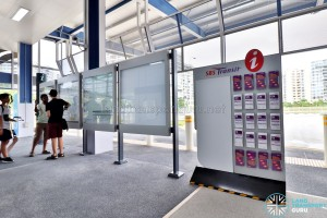Tampines Concourse Bus Interchange: Service Guide Rack