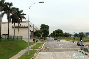 View from Bus Service 127 along Tampines Industrial Ave 5