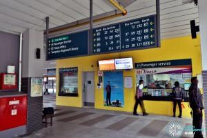 Passenger Service Counters (SBST & SMRT), Dec 2016