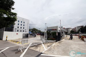 Braddell Bus Park - Entrance