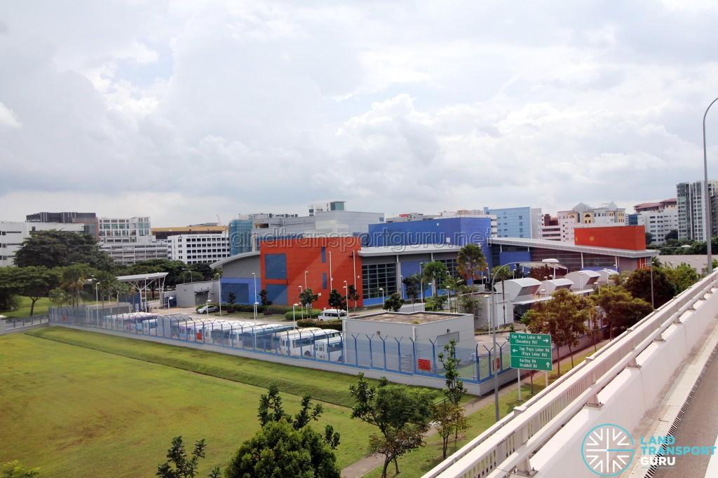 Overhead view of Kim Chuan Depot