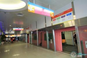 Sentosa Station - Alighting platform