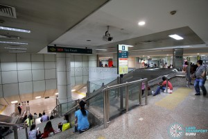 Toa Payoh Interchange - Entrance to MRT (Exit B)