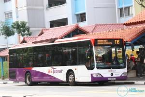 SBS Transit Mercedes-Benz Citaro (SG1085L) - Service 116