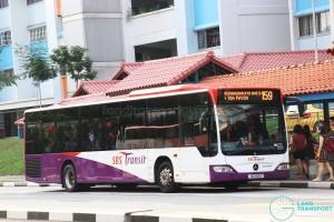 SBS Transit Mercedes-Benz Citaro (SG1153Z) - Service 159