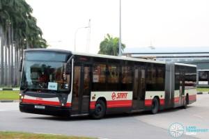 SMRT Mercedes-Benz O405G Habit (TIB1159C) - Service 903M