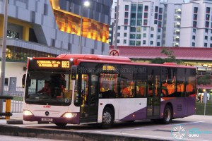 SMRT Mercedes-Benz Citaro (SG1188Z) - Service 883