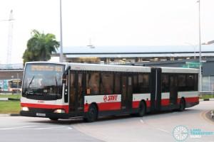 SMRT Mercedes-Benz O405G Volgren (TIB1194A) - Service 903