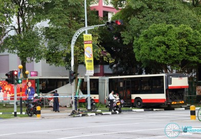 SMRT Bendy Bus Accident at Yew Tee