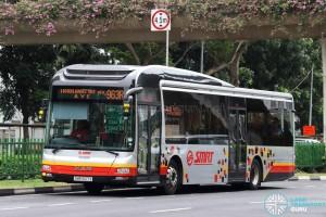 SMRT MAN A22 (SMB1627X) - Service 963R