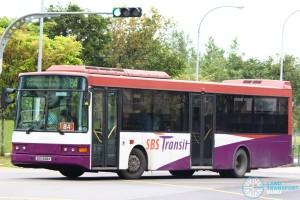 SBS Transit Volvo B10BLE Diesel (SBS1688K) - Service 84