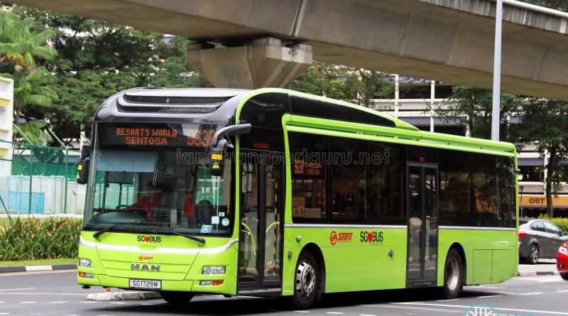 SMRT MAN A22 (SG1729M) - Service 963R