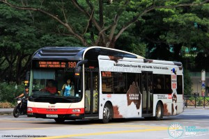 SMRT MAN A22 (SMB200A) - Service 190
