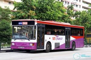 SBS Transit Volvo B10M MkIV DM3500 (SBS2790R) - Service 502
