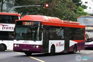 SBS Transit Volvo B10BLE CNG (SBS2989K) - Service 243G