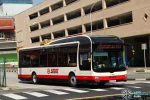 SMRT MAN A22 (SMB3038H) - Service 302