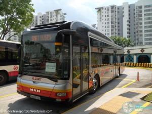 SMRT MAN A22 (SMB3077U) - Service 301 Familarisation Ride