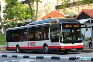 SMRT MAN A22 (SMB3097L) - Service 860A