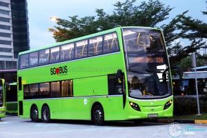 Tower Transit Alexander Dennis Enviro500 (SMB3507X) - Service 334