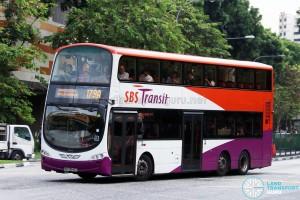 SBS Transit Volvo B9TL Wright (SBS3646T) - Service 179A