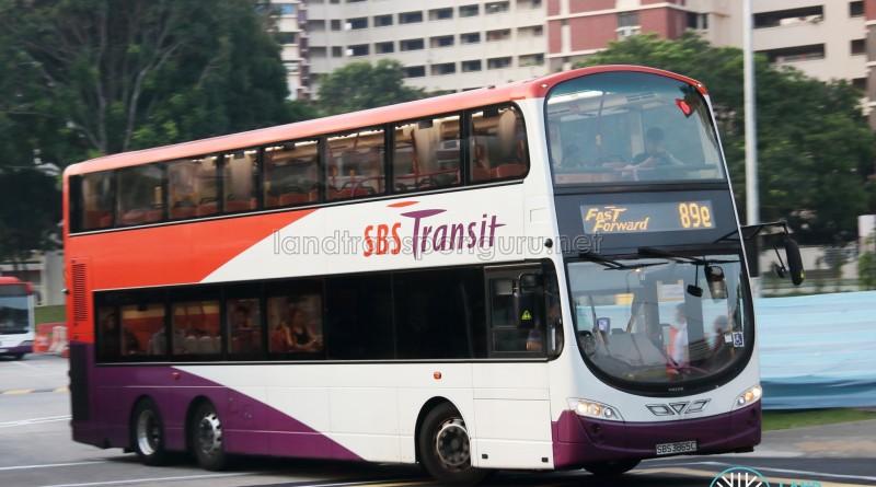 SBS Transit Volvo B9TL Wright (SBS3865C) - Service 89e